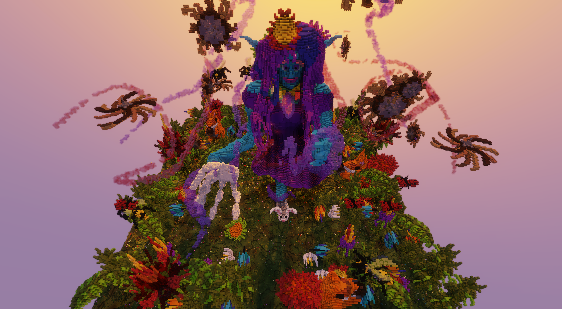 Alanna Ithil - A D'n'D Galactic Elf (Made as a Birthday Present :D) Minecraft Map