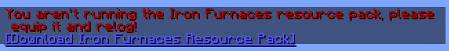 Iron Furnaces Minecraft Data Pack
