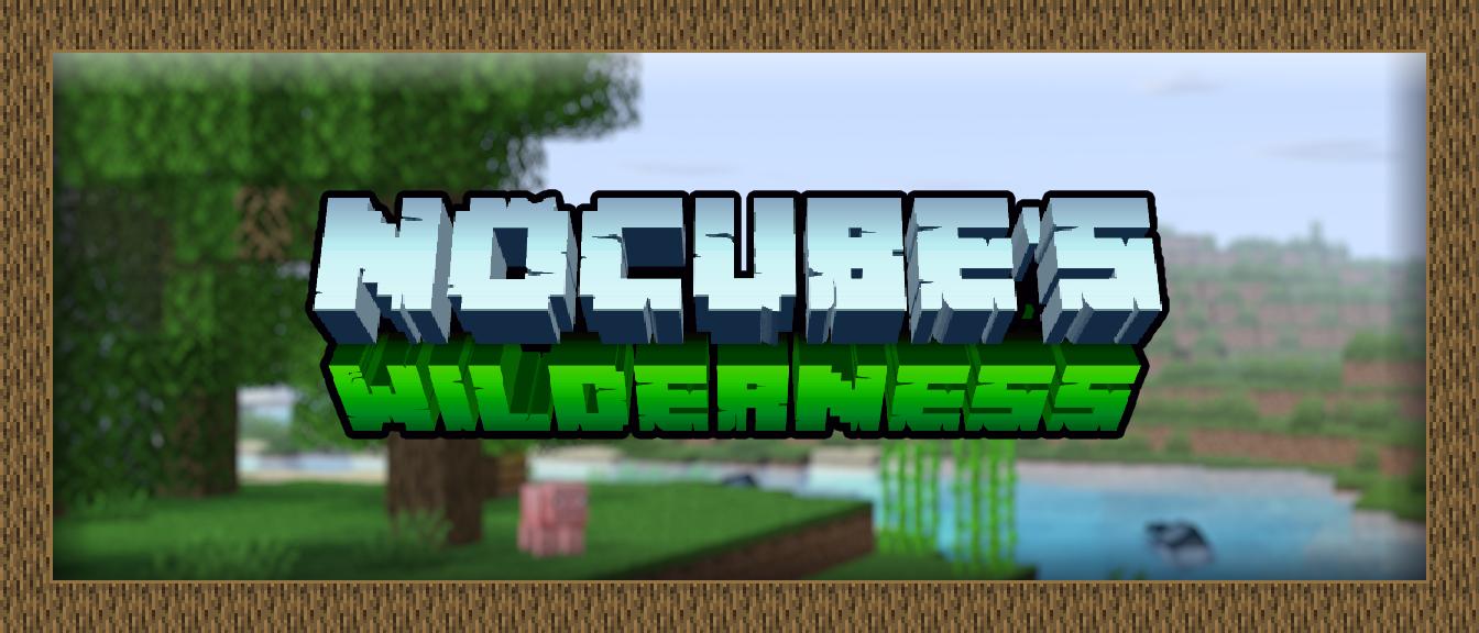 Мод на еду, вещи и блоки  для Minecraft 1.16.5 (NoCubes Wilderness)