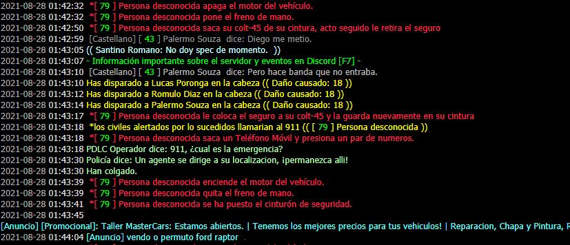 Reporte a Facundo Bucceta (MG- DM - NRA) Unknown