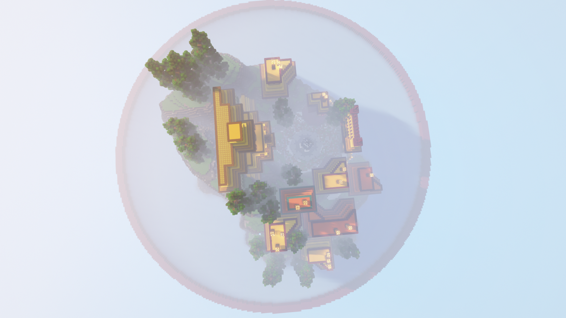 Fire of Dragon Town [Lobby/Hub] 1.16.5 [DOWNLOAD] Minecraft Map