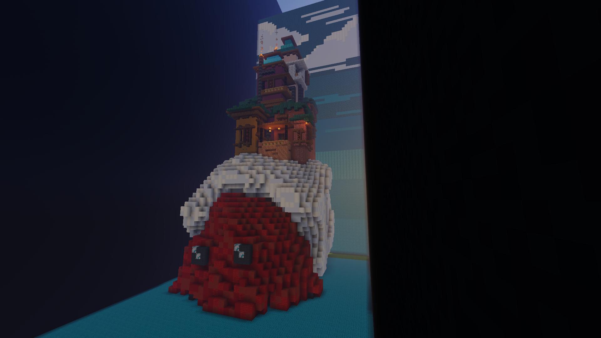 HERMIT CRAB HOUSE [BUILD ON BUILDERSREFUGE] Minecraft Map