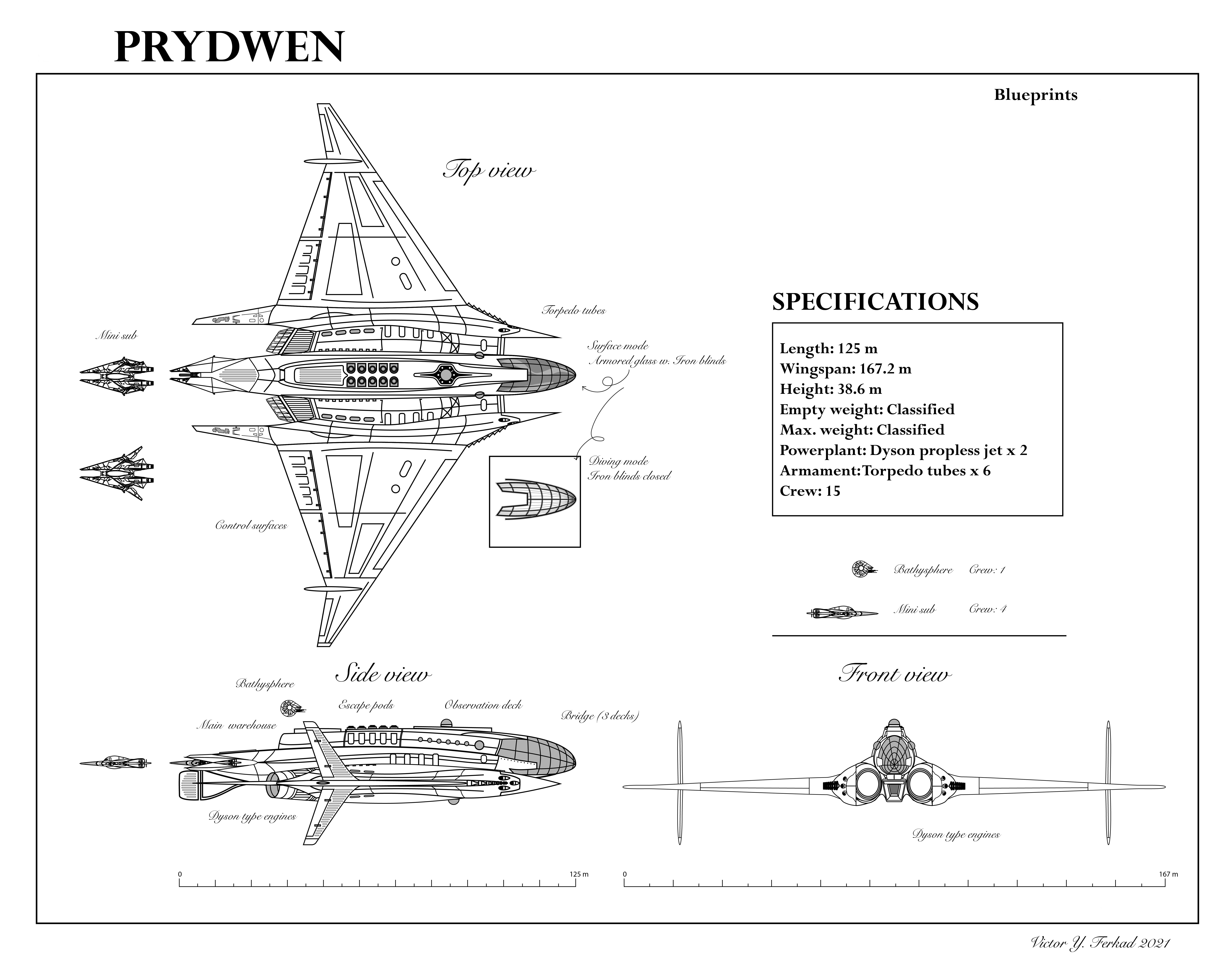Prydwen Blueprint