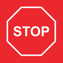 Stop avatar
