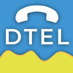 Logo for DTel
