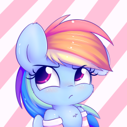 Logo for Rainbow Dash