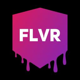 Logo for FLVR