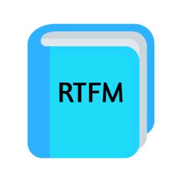Logo for RTFM