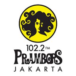 Logo for Prambors Radio Jakarta 102.2FM