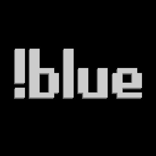 !blue