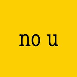 Logo for No U