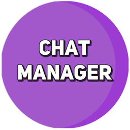 Logo for Chat Manager