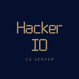 Logo for HackerIO x CG