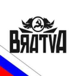 Logo for B R A T V A