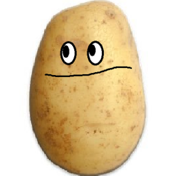 Logo for potato bot 2000