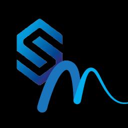 Logo for Simulation Music [/]