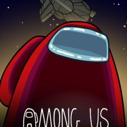 Logo for Among Us!