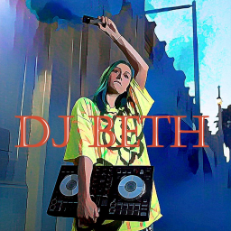 Logo for DJ Beth