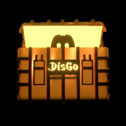 Logo for DisGo