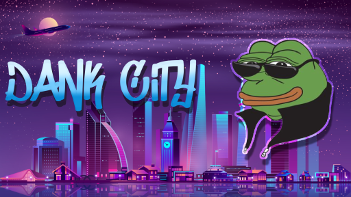 Background for Dank City