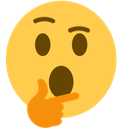 Emoji for thinkWHOA