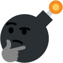 Emoji for thinkthinkthinkBOOM