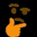 Emoji for thinkin
