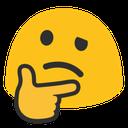 Emoji for thinking_blob