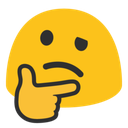 Emoji for thinking_blob