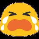 Emoji for sob_blob