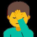 Emoji for man_facepalming