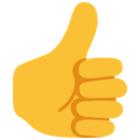 Emoji for thumbsup_blob