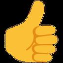 Emoji for thumbsup_blob