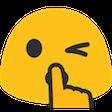 :BlobShh: Discord Emote