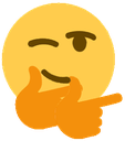 Emoji for fingerguns