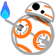 Emoji for bb8flame
