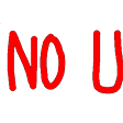 Emoji for no_u