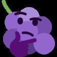 :ThinkingGrape: Discord Emote