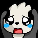 :pandascared: Discord Emote