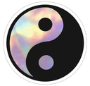 Emoji for yinyang