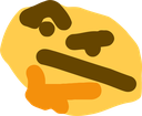 Emoji for thonking