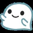 :ghostsmile: Discord Emote