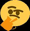Emoji for Thenking