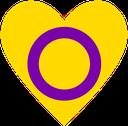 Emoji for intersex_heart