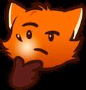:foxthink: Discord Emote