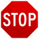 Emoji for stop