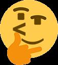 Emoji for thionking