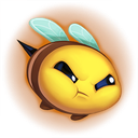 :Bee_Mad_Emote: Discord Emote