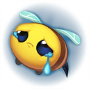 :Bee_Sad_Emote: Discord Emote