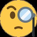 Emoji for intrigued